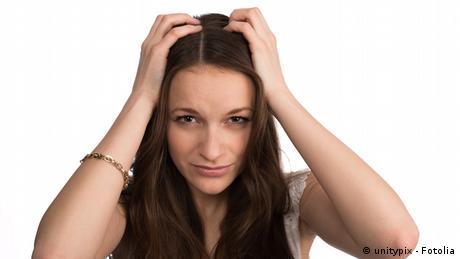 Symbolbild Stress Kopfschmerzen