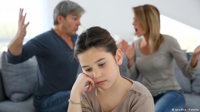Symbolbild Krise in der Familie