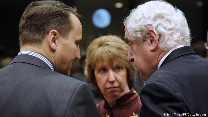 EU Außenministertreffen Krim Referendum 17.03.2014 Ashton