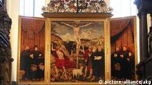 Deutschland Cranach Altarbild in der Herderkirche Weimar