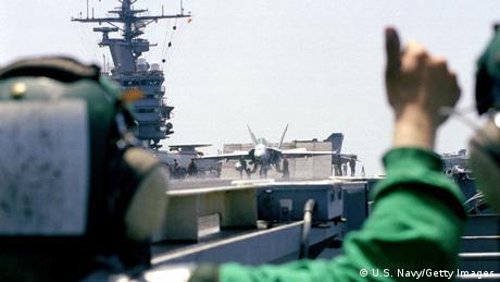 Bildergalerie Kosovo Krieg 15 USS Theodore Roosevelt