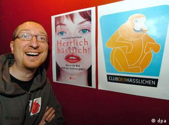 Harald Gaspar and wife Regina are offering hope to Hamburg's ugly folk