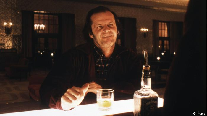 USA Film Filmszene Jack Nicholson in Shining