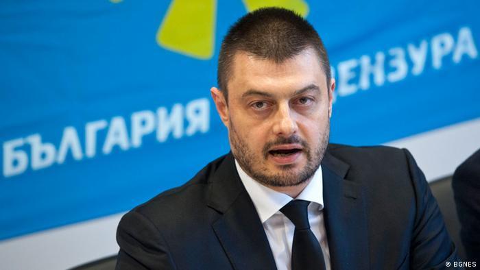 Nikolai Barekov, Chef der Partei Bulgarien ohne Zensur