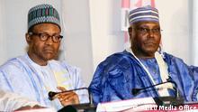 Muhammadu Buhari und Atiku Abubakar