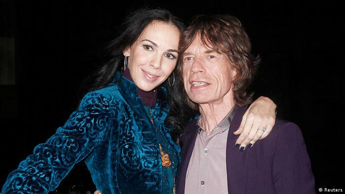 L'wren Scott und Mick Jagger