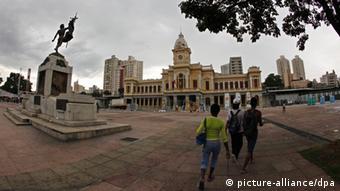 Praça da Estação, no coração de Belo Horizonte