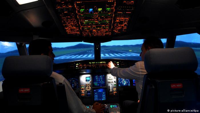 Boeing 777 - 300 Cockpit