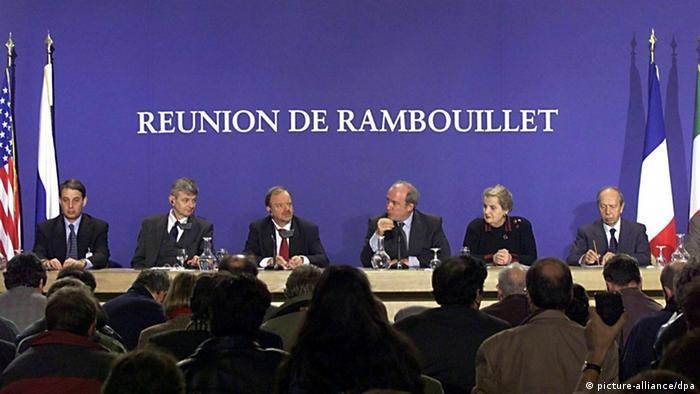 Conference in Rambouillet
