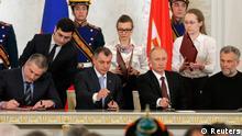 Krim Vertragsunterzeichnung 18.03.2014
