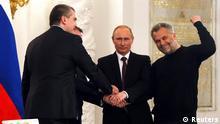 Krim nach Vertragsunterzeichnung 18.03.2014