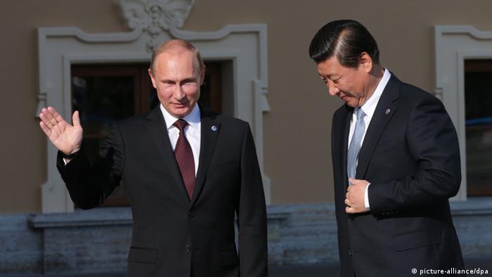 Xi Jiping, Vladimir Putin G 20-Gipfel