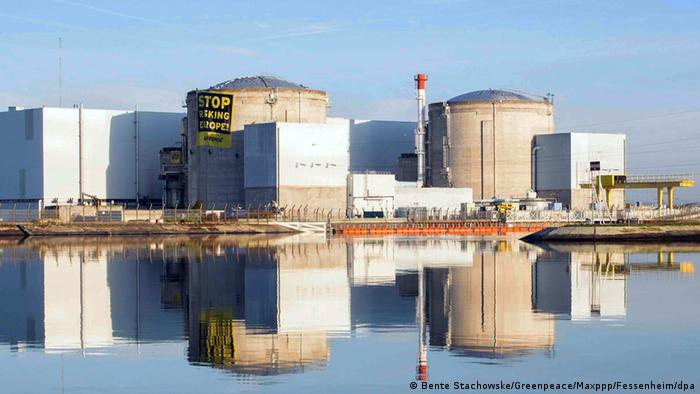 Usina nuclear de Fessenheim, na França
