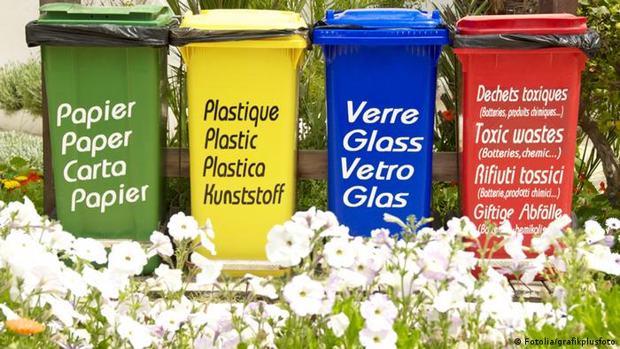Four bins (photo: Fotolia)