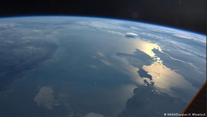 Live from Space Krim Luftbild