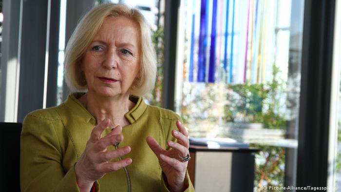 German Education Minister Johanna Wanka, Copyright: Thilo Rückeis