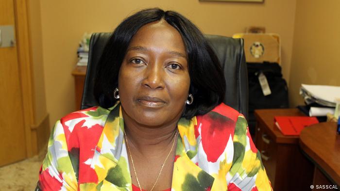 Anna Shiweda, deputy director of SASSCAL