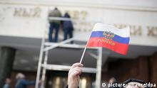 Krim Beitritt Parlament in Simferopol 18.03.2014