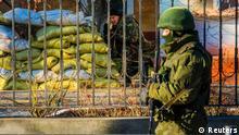 Krim Krise Soldaten 19.03.2014 Simferopol