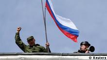 Krim Krise Marinestützpunkt 19.03.2014 Sewastopol