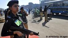 Polizistin in Pakistan