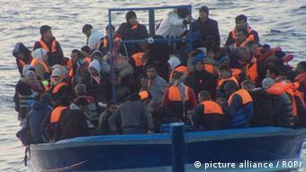 Italien Flüchtlinge 17.03.2014