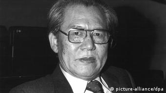 Isang Yun, archive photo from 1988, Copyright: dpa