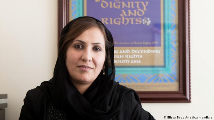 Humaira Rasuli, director of medica mondiale in Afghanistan