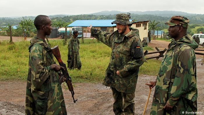 EU Training Mission for Somalia. German soldiers in Uganda 2012