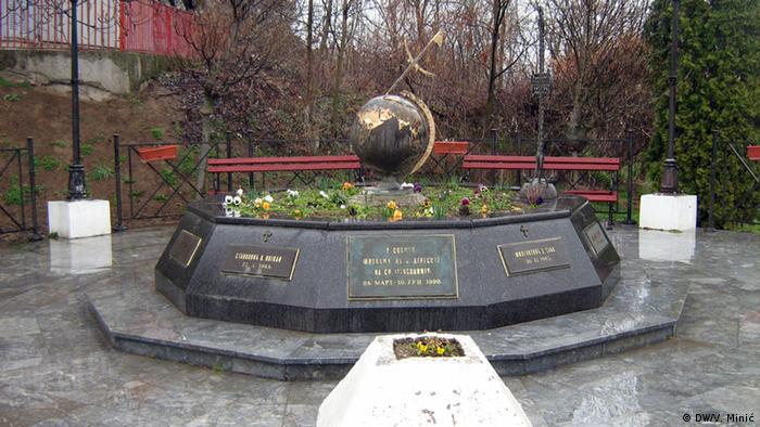 The Varvarin memorial. (Photo: Vladimir Minić/ dw)