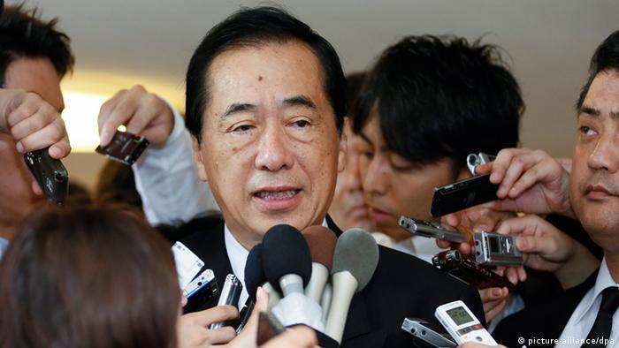 früherer japanischer Premierminister Naoto Kan