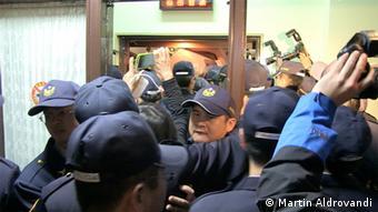 Taiwan Taipeh Studentenproteste 19.03.2014