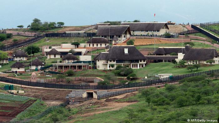 Private home for President Jacob Zuma(Photo credit should read STRINGER/AFP/Getty Images)
