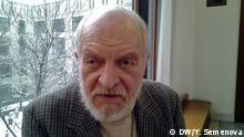 Russischer Priester und Menschenrechtler Gleb Jakunin Copyright: Yulia Semenova, DW.