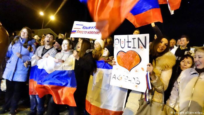 Bildergalerie Krim Ukraine Russland 20.3.14