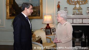 Bulgarien Plewneliew bei der Queen 18.03.2014