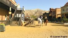 Spain-Spaghetti Westerns Film Set Spanien