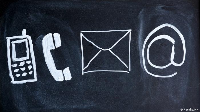 Символы электронной коммуникации