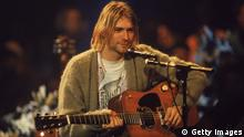 Nirvana Kurt Cobain MTV Unplugged (Getty Images)