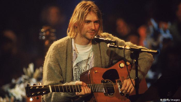 Nirvana - Kurt Cobain en MTV acústico