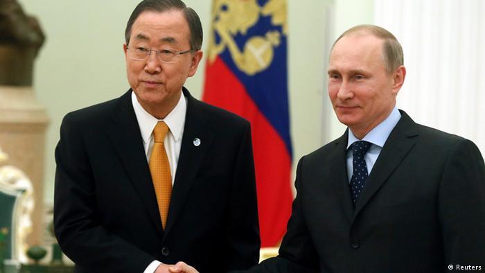 Ban Ki Moon bei Putin 20.03.2014
