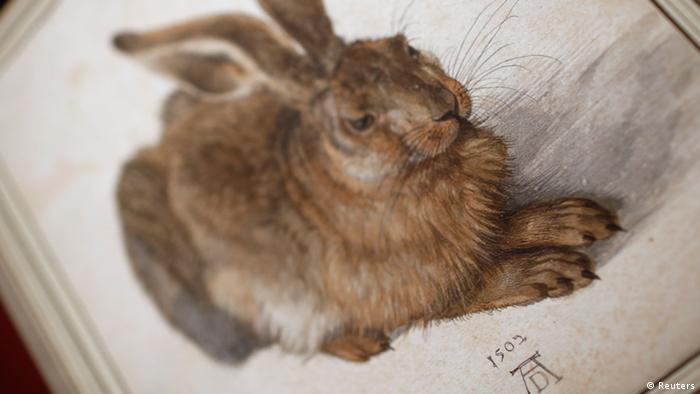 Young Hare by Albrecht Dürer