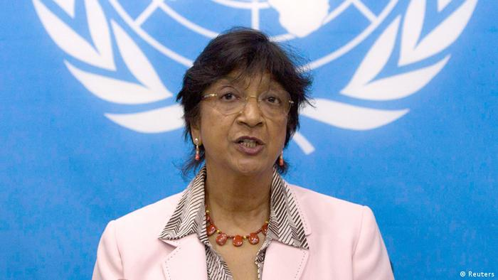 UN Navi Pillay in Bangui 20.03.2014