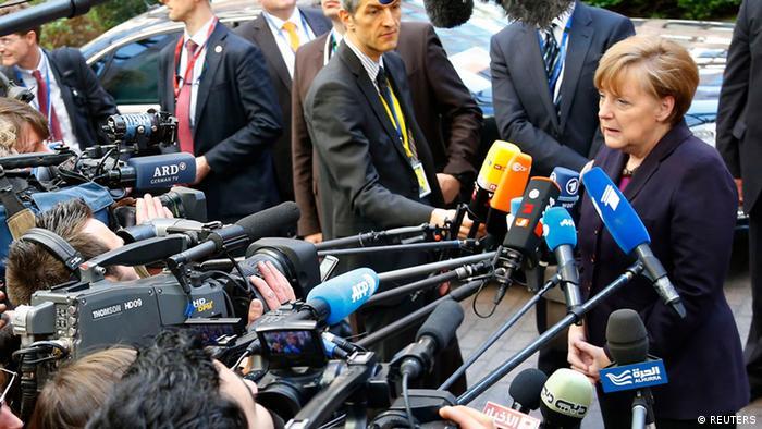 EU Gipfel in Brüssel Angela Merkel