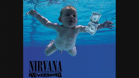 Album Nevermind von Nirvana (Albumcover)