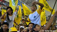 Indonesien Wahlkampf 2014 Golongan Karya