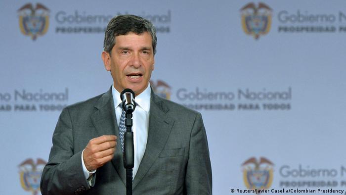 Rafael Pardo interims Bürgermeister Bogota Kolumbien