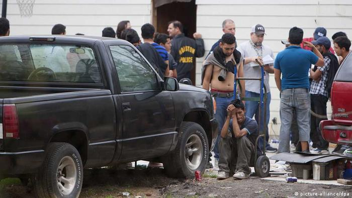 Menschenhandel, Razzia, Texas (picture-alliance/dpa)