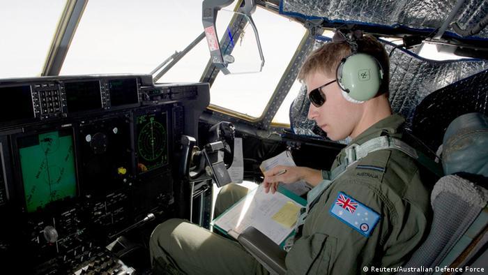 Luftwaffen-Cockpit (Foto: Reuters/Australian Defence Force)