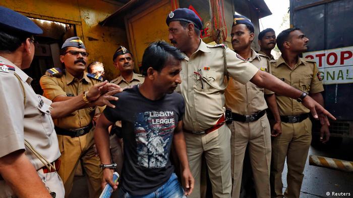 Mumbai Vergewaltiger Gefängnis 21.03.2014